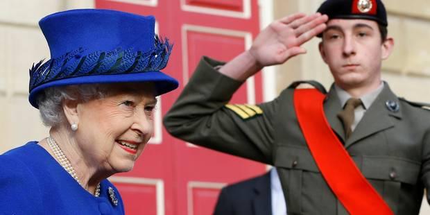 Elizabeth II en guerre contre les policiers mangeurs de cacahouètes - La DH