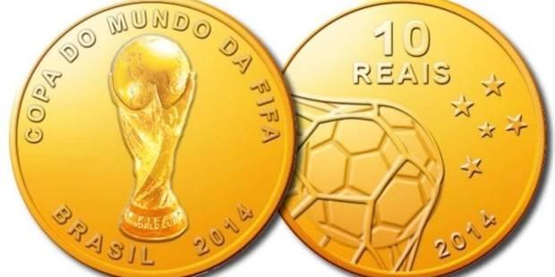 Des pièces de monnaie pour la Coupe du monde 2014 - La DH