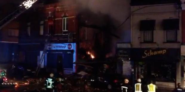 Une pizzeria explose à Marcinelle: la vidéo des dégats - La DH