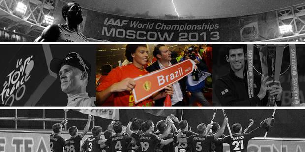 Des Diables à Djokovic en passant par Vettel : le top du sport en 2013 - La DH