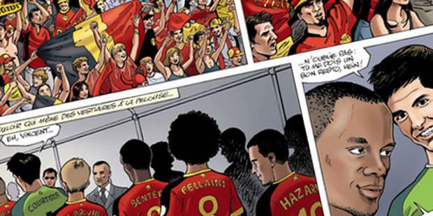 L'Union belge pourrait porter plainte contre une BD sur les Diables Rouges - La DH