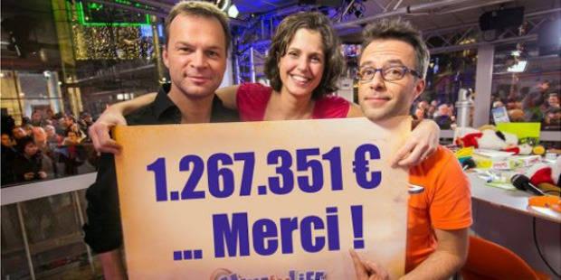 Plus de 1,26 million r�colt� durant l'op�ration Viva for Life de la RTBF - DH.be