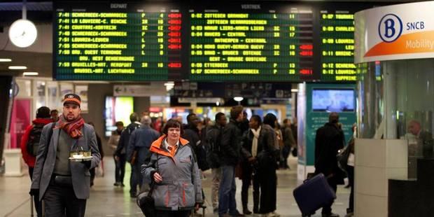 Circulation ferroviaire perturbée entre Enghien et Hal: problème technique résolu - La DH