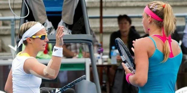 Auckland: Yanina Wickmayer face à une qualifiée au premier tour, Kirsten Flipkens face à Monica Puig - La DH