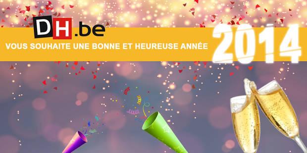 DH.be vous souhaite une superbe année 2014 ! - La DH