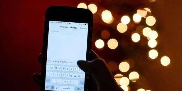 """Le SMS du réveillon, c'est """"so 2012"""" - La DH"""