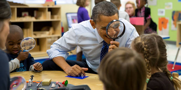 2013, l'année si cool et détendue d'Obama (grâce à Pete Souza) - La DH