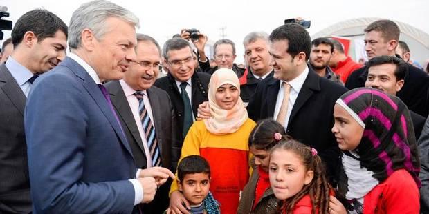 La Belgique va financer deux structures médicales pour les réfugiés syriens - La DH