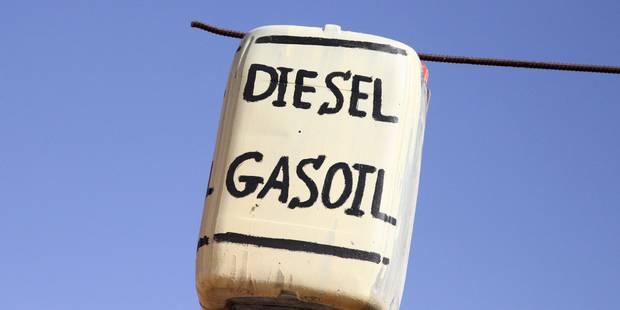 Baisse du prix du diesel - La DH