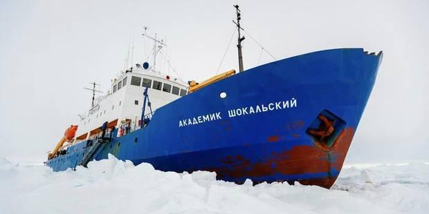 Un brise-glace américain en Antarctique pour libérer les navires russe et chinois - La DH