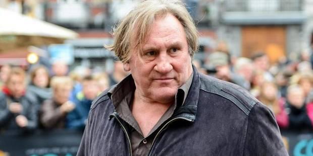 """Depardieu: """"Etre comédien, ce n'est plus mon truc"""" - La DH"""