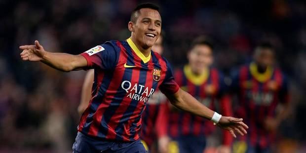 Liga: Alexis Sanchez voit triple, le Barça déroule - La DH