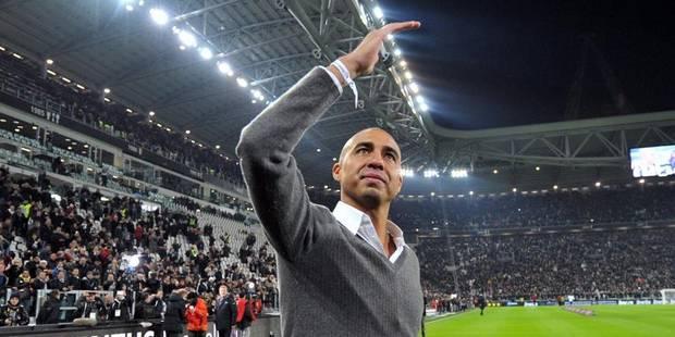 David Trezeguet fêté par le stade de la Juventus - La DH