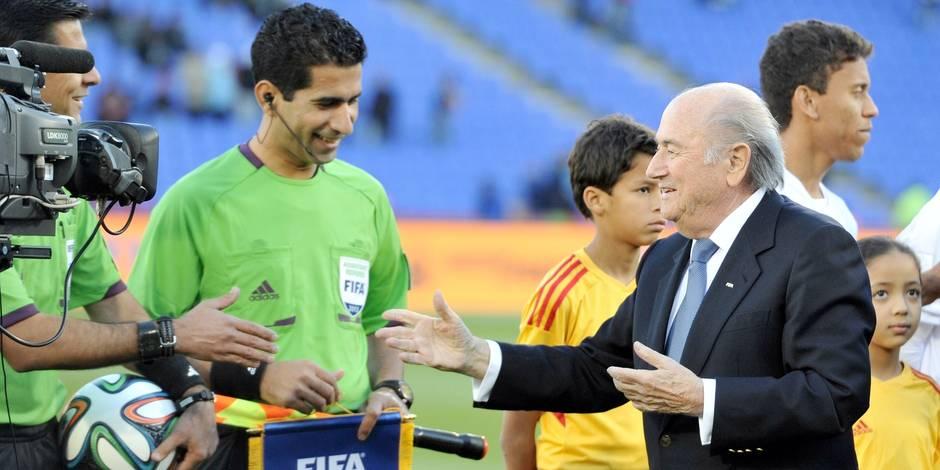 """Le Brésil s'est préparé """"trop tard"""" selon Blatter"""
