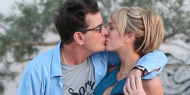 Charlie Sheen, marié à une star du X ? - La DH