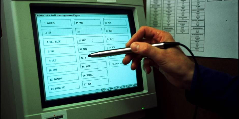 Vote électronique: recours de 23 communes liégeoises contre le gouvernement wallon