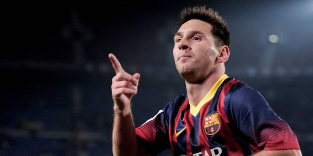 Coupe du Roi: Messi fait sa rentrée... et un doublé! - La DH