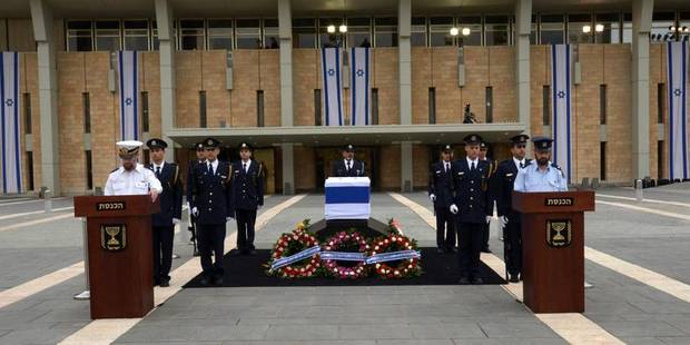 Israël rend un hommage officiel à Ariel Sharon - La DH