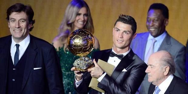 """Ballon d'Or 2013 : """"Il n'y a pas de mot pour décrire ce que je ressens"""" - La DH"""