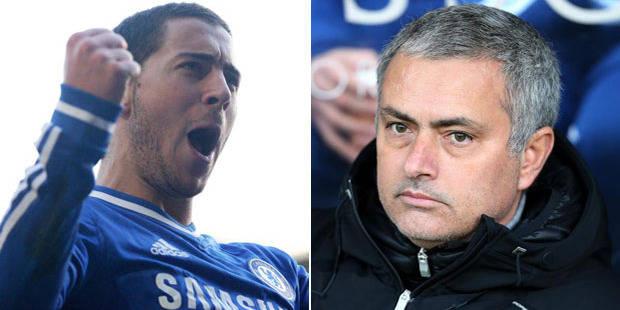 """Mourinho: """"Hazard peut devenir un des meilleurs au monde... s'il reste en Premier League"""" - La DH"""