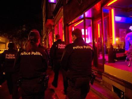 La police de Bruxelles nord lance une operation en vue de securiser la voie publique dans le quartier delimite par les rues Aerschot et Brabant