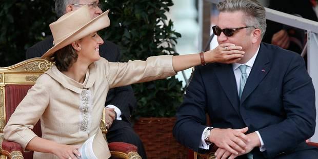Le Prince Laurent envoie un communiqué pour les 40 ans de la Princesse Claire - La DH