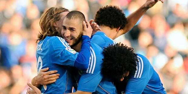 Liga: le Real régale et recolle, 100e pour Benzema - La DH