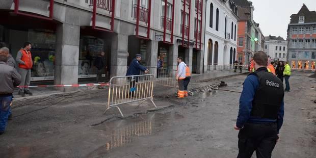 Inondations près de la Cathédrale de Tournai - La DH