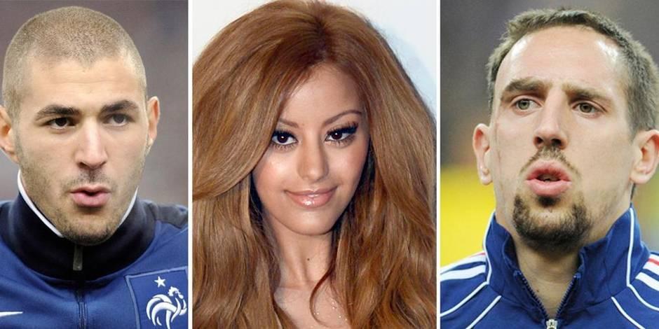 Ribéry et Benzema jugés en leur absence dans l'affaire Zahia