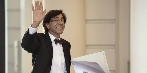 Le Premier ministre Elio Di Rupo a reçu son homologue luxembourgeois Xavier Bettel - La DH