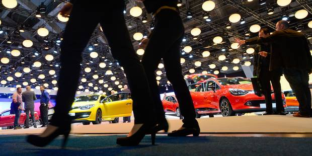 Salon de l'Auto: 35 stands en infraction