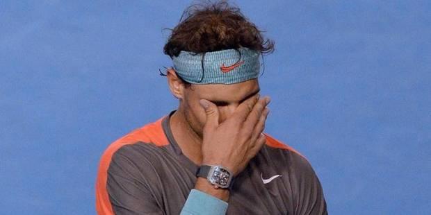 Les larmes de Rafael Nadal en pleine finale - La DH