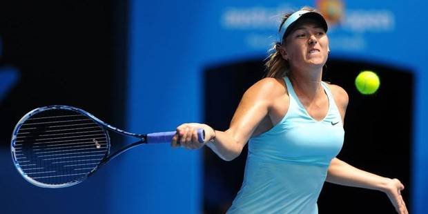 Quand Sharapova drague un journaliste - La DH