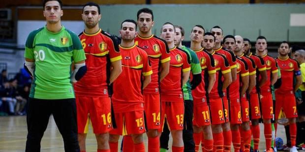 Le futsal devient roi � Anvers, l'Euro 2014 d�bute!