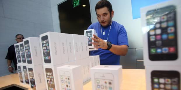 Apple déçoit avec ses ventes d'iPhone pendant les fêtes - La DH