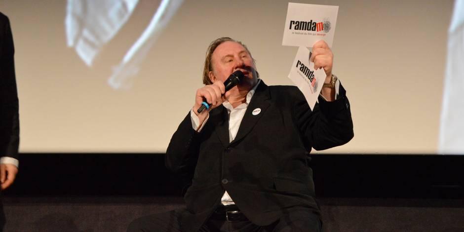 """Depardieu: """"A Tournai, j'ai envie de baiser"""""""