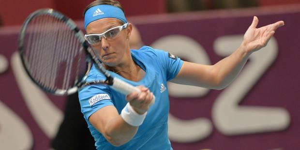 Flipkens défiera Sharapova en 1/4 à Paris - La DH