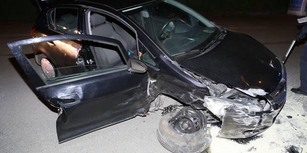 Un automobiliste sérieusement blessé à Jumet - La DH