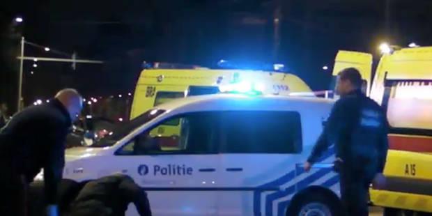 Collision: une policière et un scootériste blessés - La DH