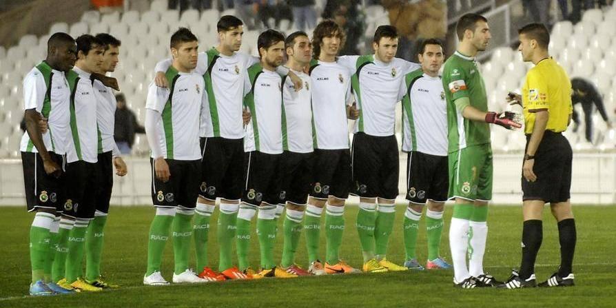 Les joueurs du Racing Santander en grève