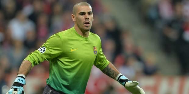 Une fin de mercato sans surprise: Valdès dira 'adios' au Barça en fin de saison, un ancien Mauve à Malaga - La DH