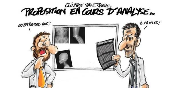 Clinique St-Pierre : un accord de principe a été trouvé - La DH