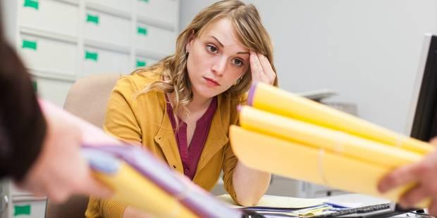 Deux travailleurs belges sur trois sont stressés - La DH