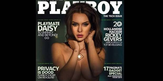 Daisy, la Belge qui fait la couverture de Playboy ! - La DH