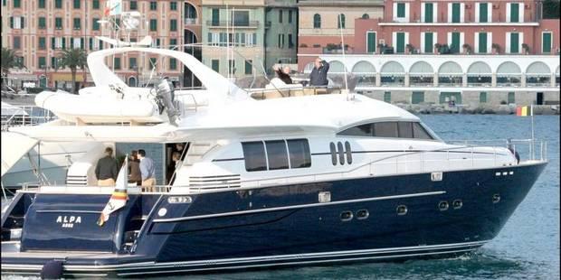Le yacht d'Albert II est toujours sous pavillon militaire - La DH