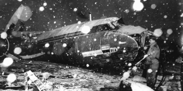 Il y a 56 ans, l'avion de Manchester United s'écrasait - La DH