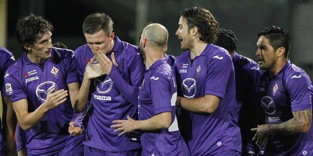 Calcio: la Fiorentina rejoint Naples - La DH