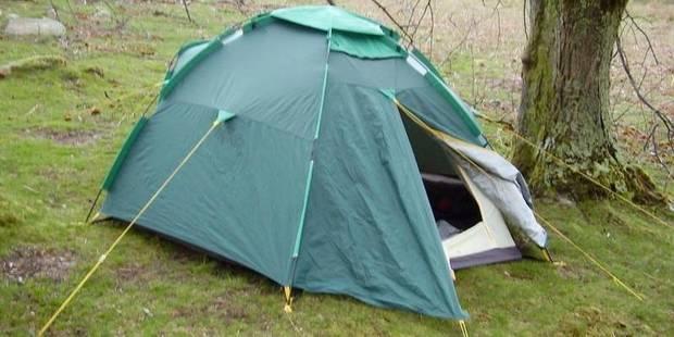 Elle a été retrouvée morte dans une tente - La DH
