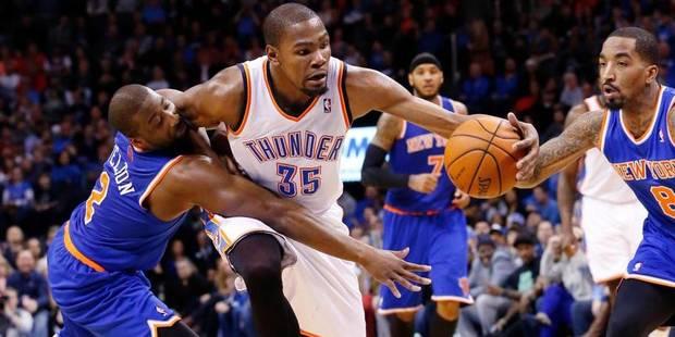 NBA: un Kevin bien enDurant met New York K.O. - La DH