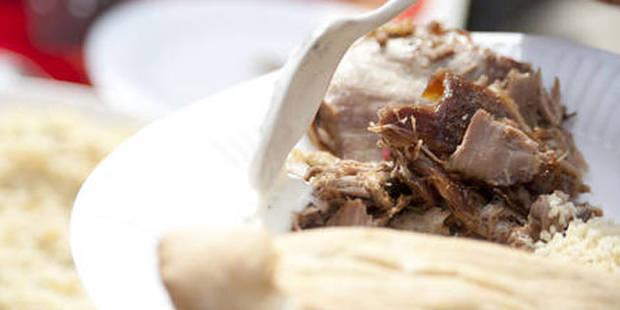 Saisie et destruction de cinq kilos de viande dans un snackbar à Jette - La DH